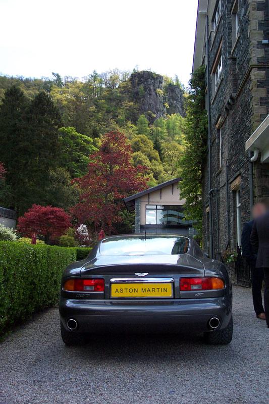 Aston Martin Wedding Car - Photo Gallery