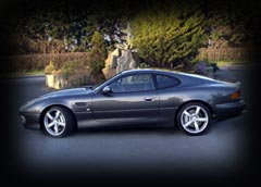 Awarded with the lustrious title of the worlds most beautiful car - ever! The Aston Martin DB7. This is the upgraded GT Version.