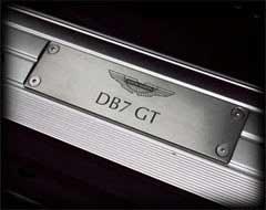 Aston Martin DB7 GT Name Plaque